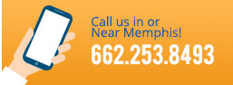 call us in or near memphis! -- 662.253.8493